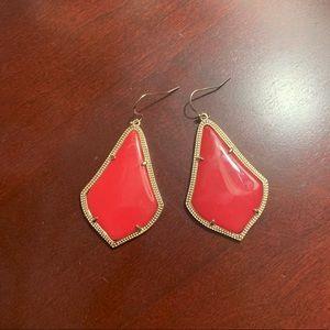 Kendra Scott Alexandra Red earrings